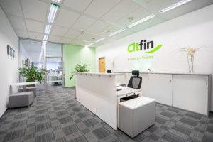 recepcia Citfin